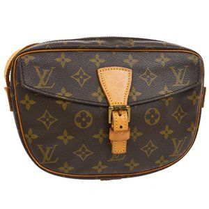 Auth Louis Vuitton Jeunefille Pm Cross #5242L33B
